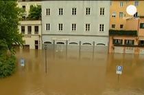 Inundatii in centrul Europei