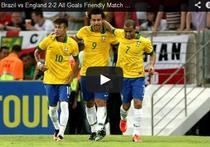 Brazilia si Anglia, remiza la Rio