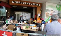 Starbucks, deschis pentru protestatari