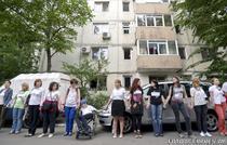 """Protest la la Centrul de Reabilitare Neuropsihica """"Ghe. Serban"""" din Capitala"""