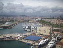 Barcelona vazuta de sus