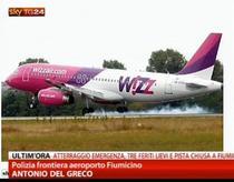 Aterizare de urgenta a unui avion Wizz Air