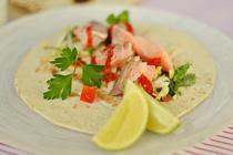 Tacos de somon