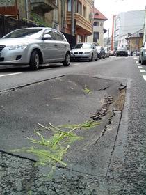 Groapa asfalt