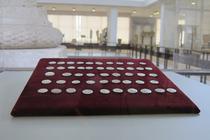 Cele 49 de monede sunt la Muzeul National de Istorie