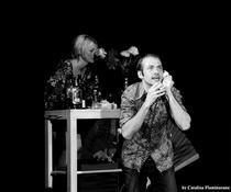 Alina Popescu si Istvan Teglas in Comedie nragra