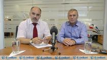 Robert Arsene, directorul general al grupului Agricover, si Robert Rekkers, directorul general al Agricover Credit IFN