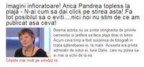 Titlul aparut pe Evz.ro - Captura Paginademedia.ro
