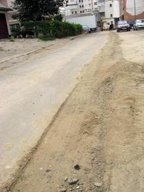 Strada sparta pentru lucrari edilitare