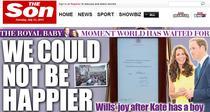 Editia online a The Sun din 23 iulie 2013