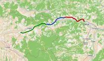Autostrada Lugoj-Deva (lotul 2 cu verde)