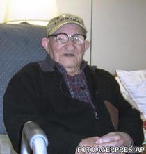 Salustiano Sanchez Blazquez, la 112 ani