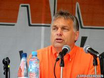 Viktor Orban la Universitatea de vara de la Baile Tusnad (foto arhiva)