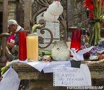 Spaniolii isi plang victimele tragediei din Santiago de Compostela