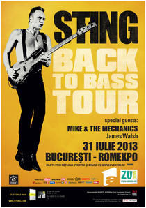 Sting - Back To Bass - 2013