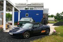 Rafael de Mestre si Tesla Roadster