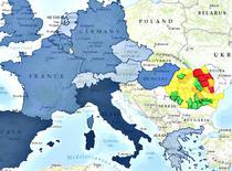 Harta emigratiei romanilor: de unde au plecat si unde s-au stabilit