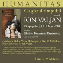 Cu glasul timpului, de Ion Valjan