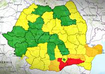 Harta analfabetismului in Romania