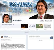 Sondajul de pe Facebook al primarului Robu