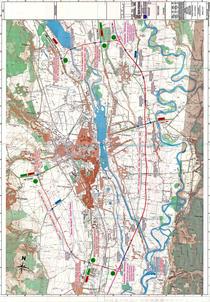 Harta centurii Bacau (2013)