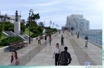 Simulare cum va arata promenada de la Cazinou