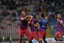 Steaua, victorie cu CFR Cluj