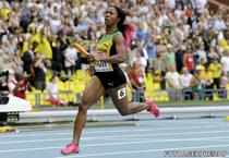 Shelly Ann Fraser- Pryce, aur cu stafeta pentru Jamaica