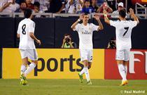 Di Maria (centru), gol contra lui Galaxy