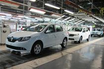 Masini Renault si Dacia in uzina de la Mioveni