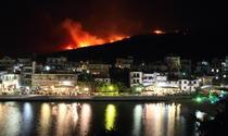 Thassos în flăcări
