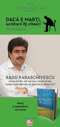 Seri de lectura cu Radu Paraschivescu