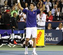 Novak Djokovic la Toronto
