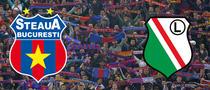 Steaua vs Legia Varsovia