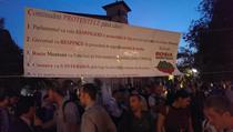 Proteste in Piata Universitatii, ziua 10