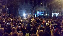 FOTOGALERIE Proteste in Piata Universitatii, ziua 10