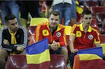 Suporteri romani pe Arena Nationala, dezamagiti dupa infrangerea nationalei de fotbal, Romania - Turcia 0-2