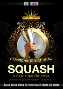 Campionatul National de Squash 2013