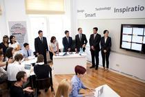 La inaugurarea clasei smart