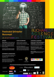 Afisul Bucharest Science Festival
