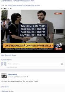 Reactia lui Silviu Dancu pe Facebook: Cica azi am devenit celebru