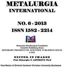 Revista Metalurgia International