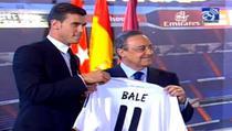 Gareth Bale cu tricoul lui Real Madrid