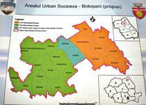 Zonele metropolitane Botosani si Suceava