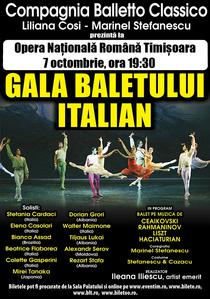 Gala Baletului Italian