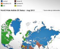 Harta sistemelor de operare mobile