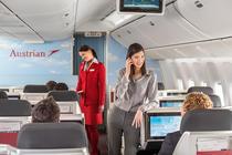 Austrian a fost desemnata in primele 10 cele mai bune companii aeriene europene