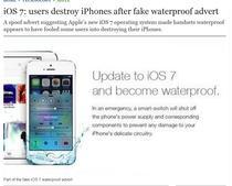 iPhone-ul rezistent la apa a facut victime