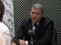Catalin Predoiu in studioul HotNews.ro