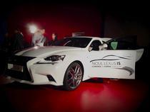 Lansare Lexus IS in Romania